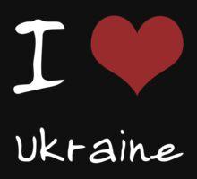 I love Heart Ukraine Baby Tee