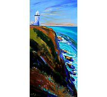Bryron Lighthouse Photographic Print