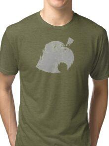 Animal Crossing Leaf Distressed Tri-blend T-Shirt