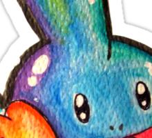 Cute Simplistic Mudkip Watercolor Tshirts + More! ' Pokemon ' Sticker