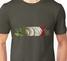 Old Poppy and Silver snail Unisex T-Shirt