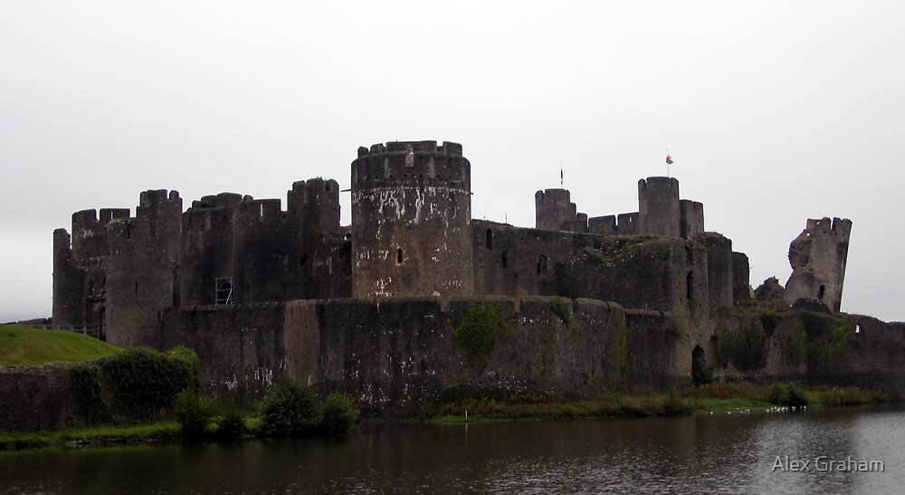 Caerphilly Castle by Alex Graham