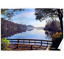 Cleawox Lake Florence Oregon Poster