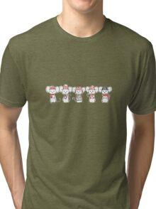 Mouse Winter  Tri-blend T-Shirt