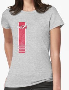N7 worn Womens Fitted T-Shirt
