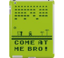 Space Invaders In The Mushroom Kingdom iPad Case/Skin