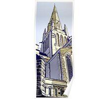 Sacred Heart Church. Bendigo Poster