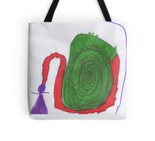 Spiral Hair Tote Bag