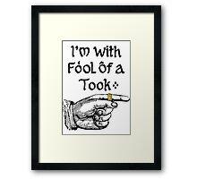Foolish Tooks, Rings are for Kids Framed Print