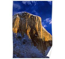 EL CAPITAN,WINTER MORNING(sunrise) Poster