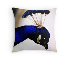 Crown of Sapphires Throw Pillow