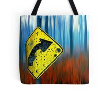Road Sign 2 Tote Bag