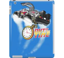 Out of the time iPad Case/Skin