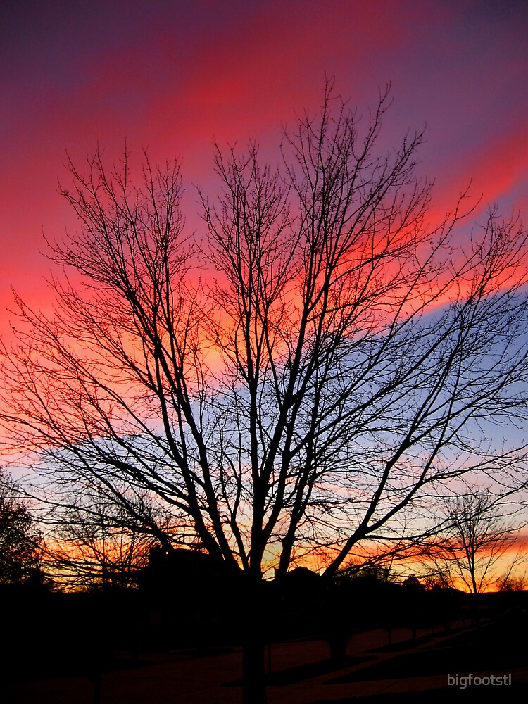 Urban Sunset by bigfootstl