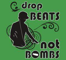 Drop Beats not Bombs Kids Tee
