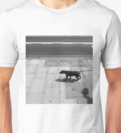 Taking The Human For A Walk Unisex T-Shirt