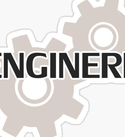 Enginerd Engineer Nerd Sticker