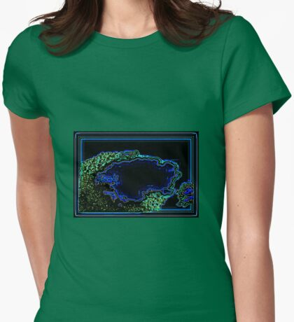 NEON CLOUD Womens Fitted T-Shirt