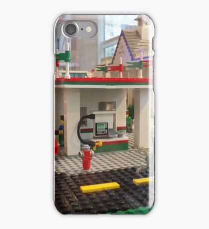Lego Gas Station, FAO Schwarz Toystore, New York City iPhone Case/Skin