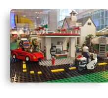 Lego Gas Station, FAO Schwarz Toystore, New York City Canvas Print
