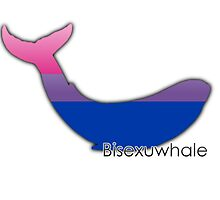 Bisexuwhale - Bisexual whale by Margotte