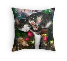..With Visions of Sugar Plums Throw Pillow