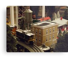 Lionel Model Trains, Model Village, FAO Schwarz Toystore, New York City Metal Print