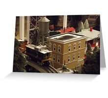 Lionel Model Trains, Model Village, FAO Schwarz Toystore, New York City Greeting Card