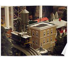 Lionel Model Trains, Model Village, FAO Schwarz Toystore, New York City Poster