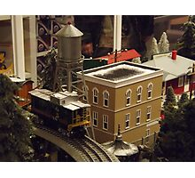 Lionel Model Trains, Model Village, FAO Schwarz Toystore, New York City Photographic Print