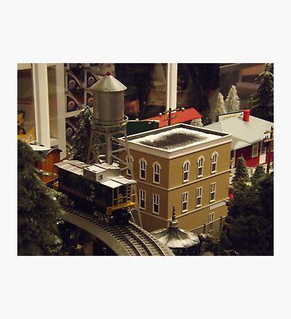 Lionel Model Trains, Model Village, FAO Schwarz Toystore, New York City Photographic Print