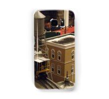 Lionel Model Trains, Model Village, FAO Schwarz Toystore, New York City Samsung Galaxy Case/Skin
