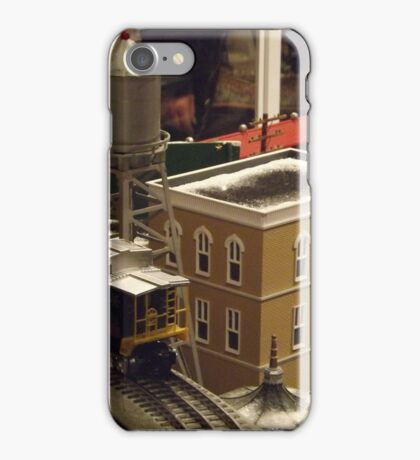 Lionel Model Trains, Model Village, FAO Schwarz Toystore, New York City iPhone Case/Skin