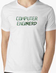 Computer Engineer Enginerd Mens V-Neck T-Shirt