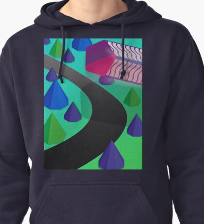 Polygon Outrun Pullover Hoodie
