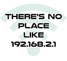 There's No Place Like Home IP Address Photographic Print
