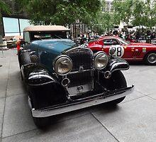 Classic 1932 Stutz Bearcat, 1966 Ferrari, New York City by lenspiro