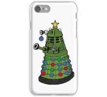 A Dalek Christmas iPhone Case/Skin