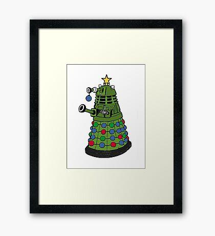 A Dalek Christmas Framed Print