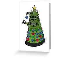 A Dalek Christmas Greeting Card