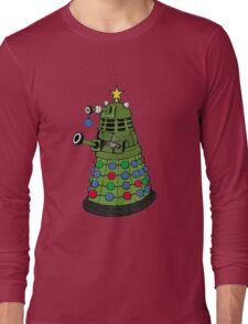 A Dalek Christmas Long Sleeve T-Shirt