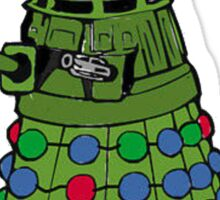 A Dalek Christmas Sticker