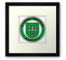 10th Special Forces Framed Print