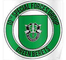 10th Special Forces Poster