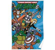 Teenage Mutant Ninja Avengers Poster