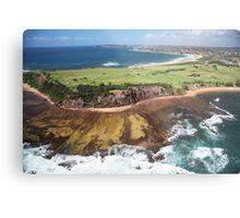 Long Reef Point, from the air Metal Print