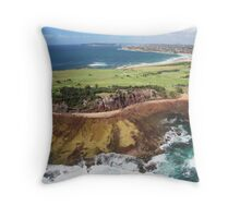 Long Reef Point, from the air Throw Pillow