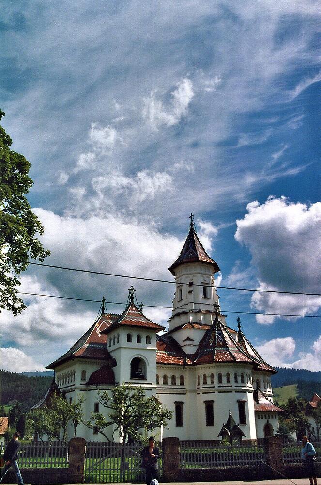 The church. by John Roshka