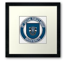 19th Special Forces Framed Print