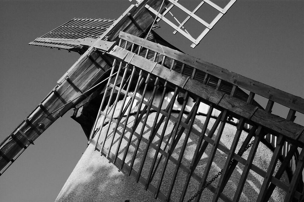 Bidston Windmill by Alan Hawkins